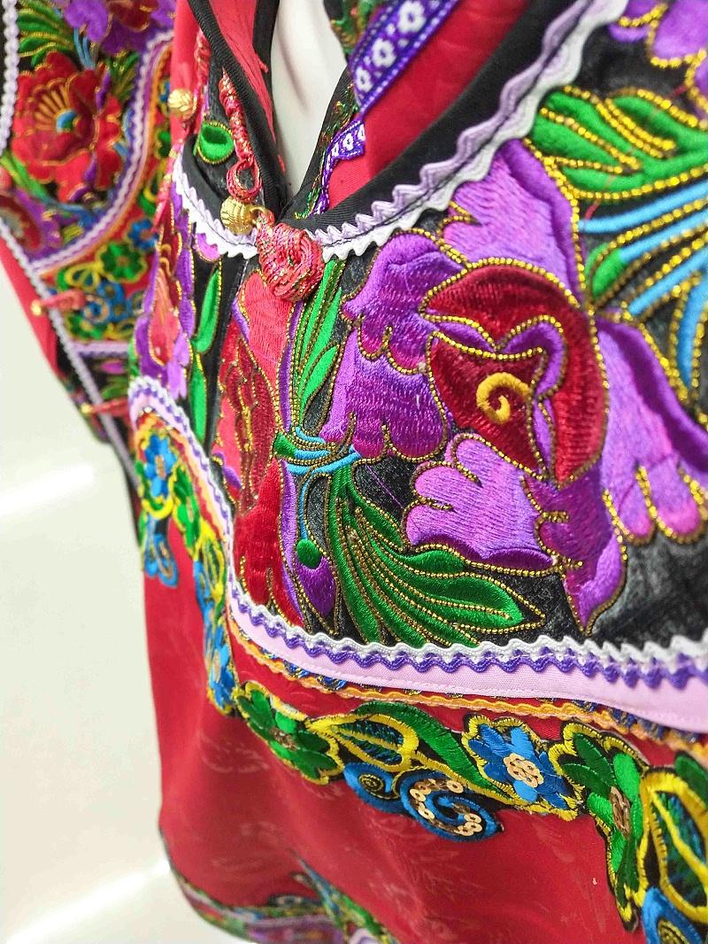 民族装刺绣