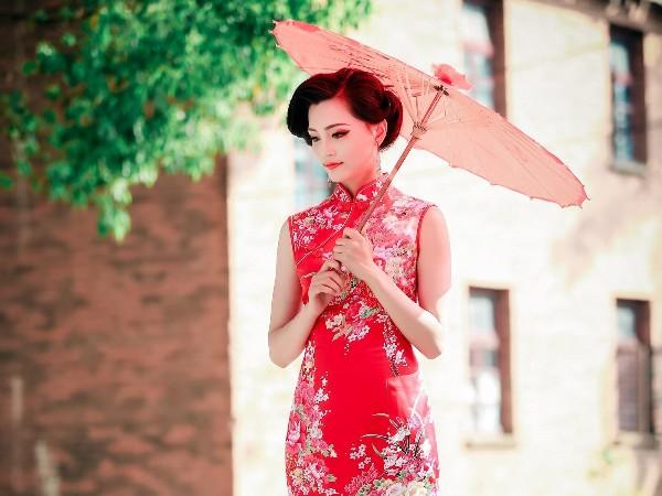 旗袍裙新款,旗袍文化高级私人定制