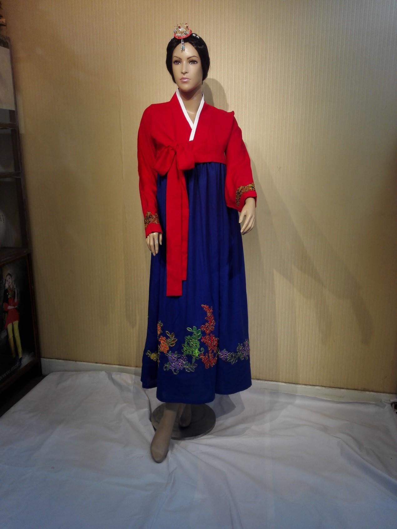 朝鲜族女装