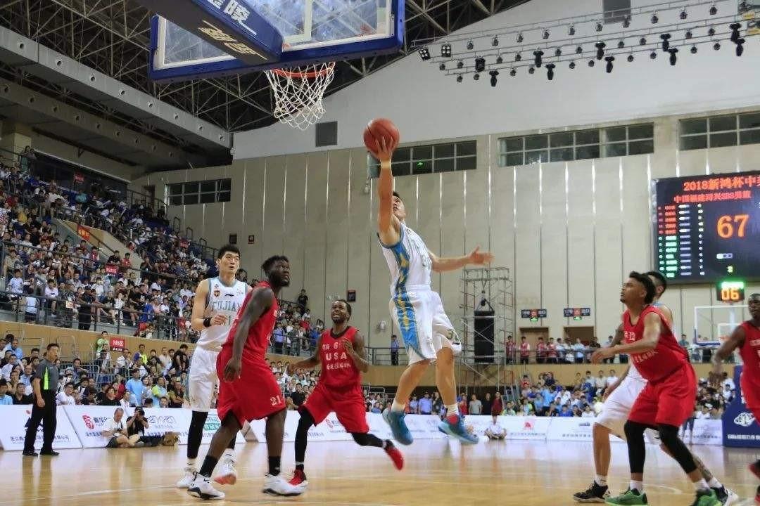 中国山西汾酒男篮和美国宋朝人国际篮球俱乐部