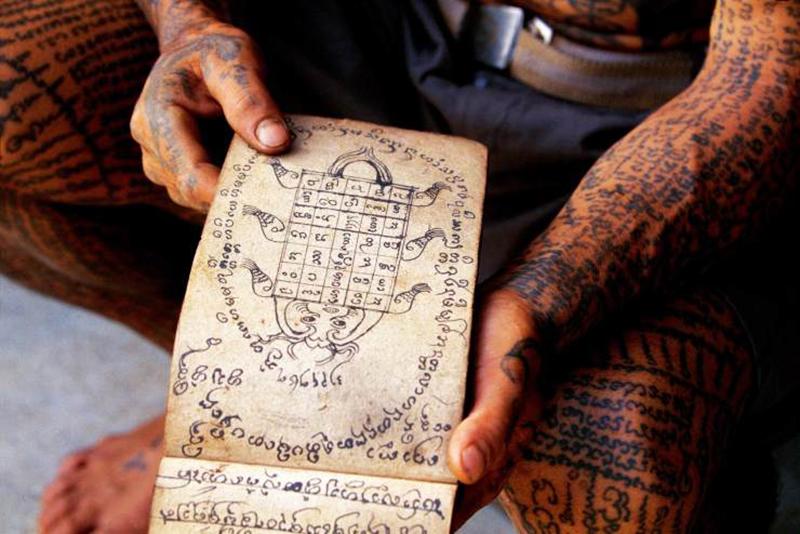 傣族纹身图案