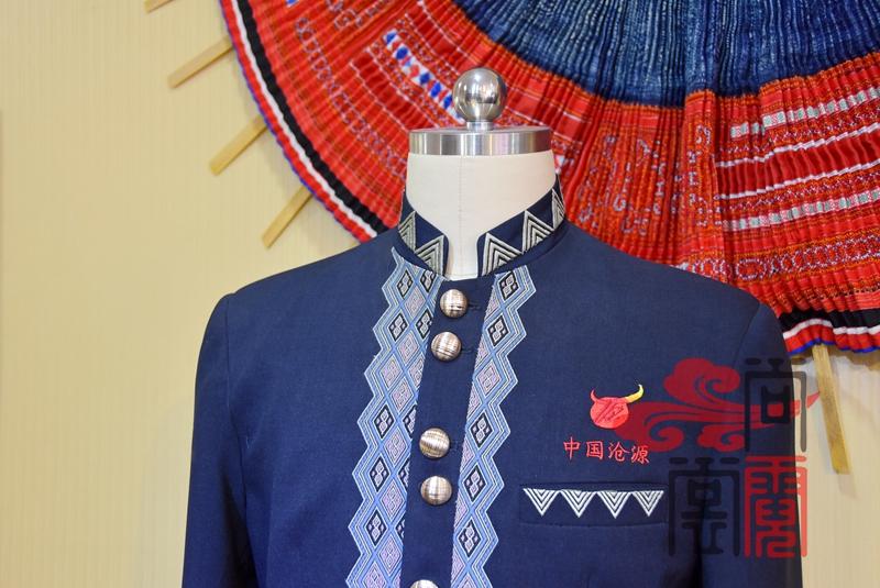 民族风服装沧源佤族