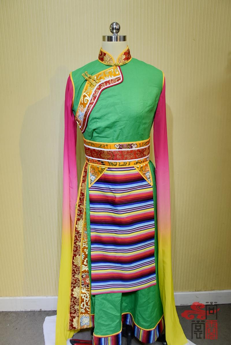 藏族铉子舞蹈服装