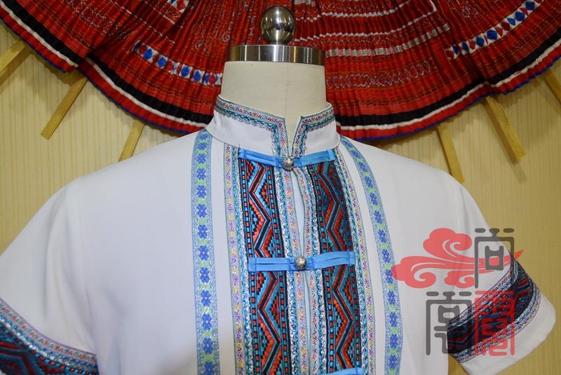 民族风服装短袖衬衫