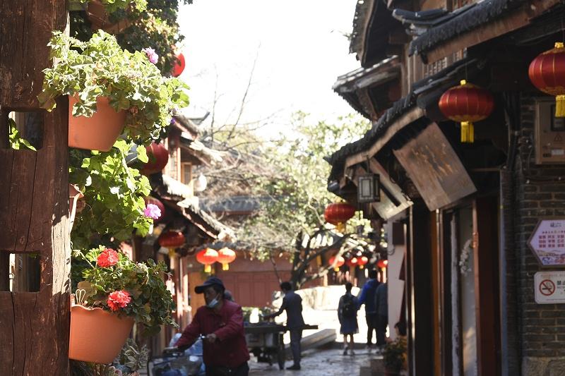 丽江古城街景