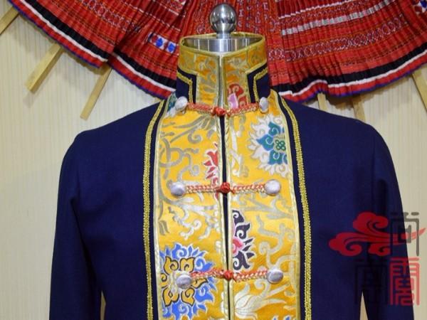 少数民族服饰藏族男装