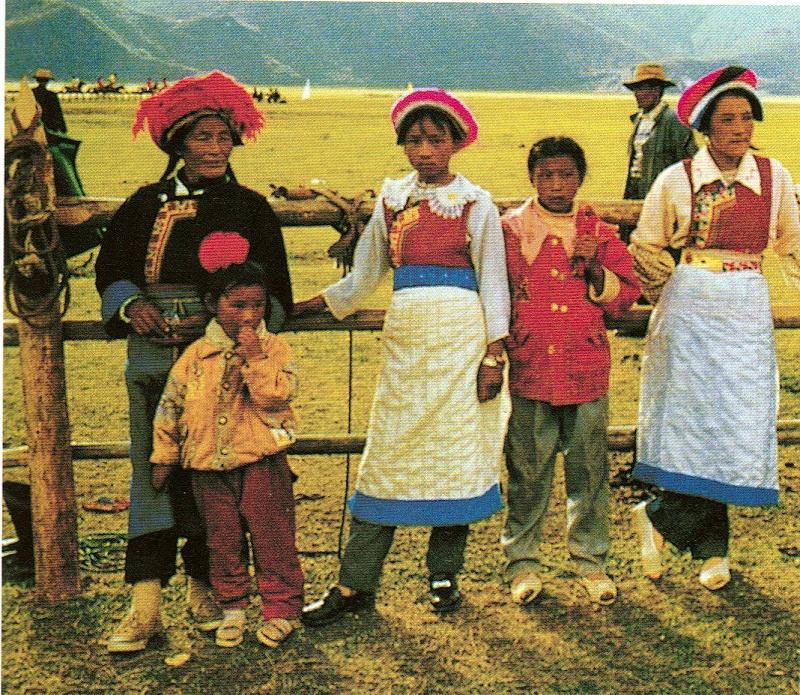 云南香格里拉藏族服饰