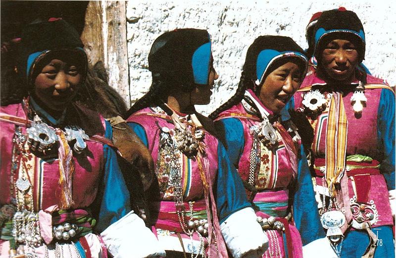 香格里拉藏族盛装