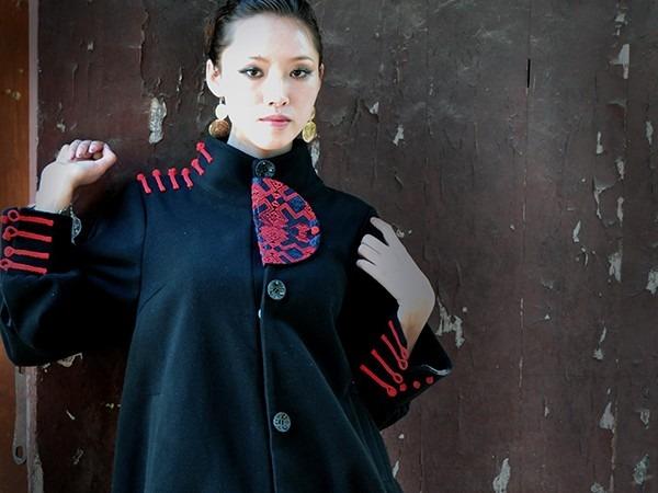 时尚民族风服饰
