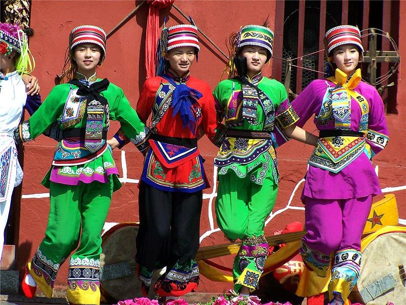 彝族萨尼族1