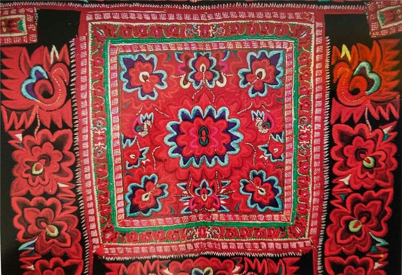 彝族服饰图案1