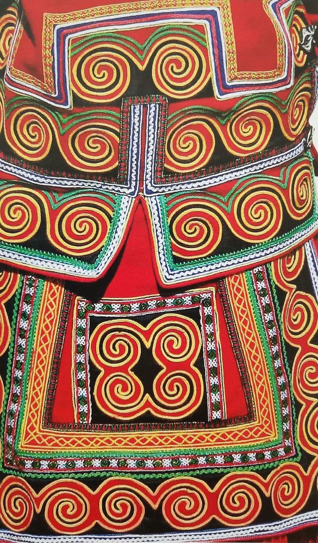 彝族服饰图案2