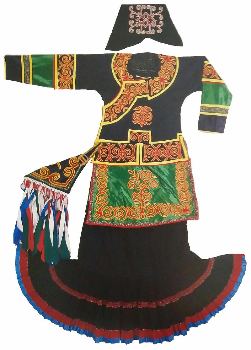 彝族苏诺女服