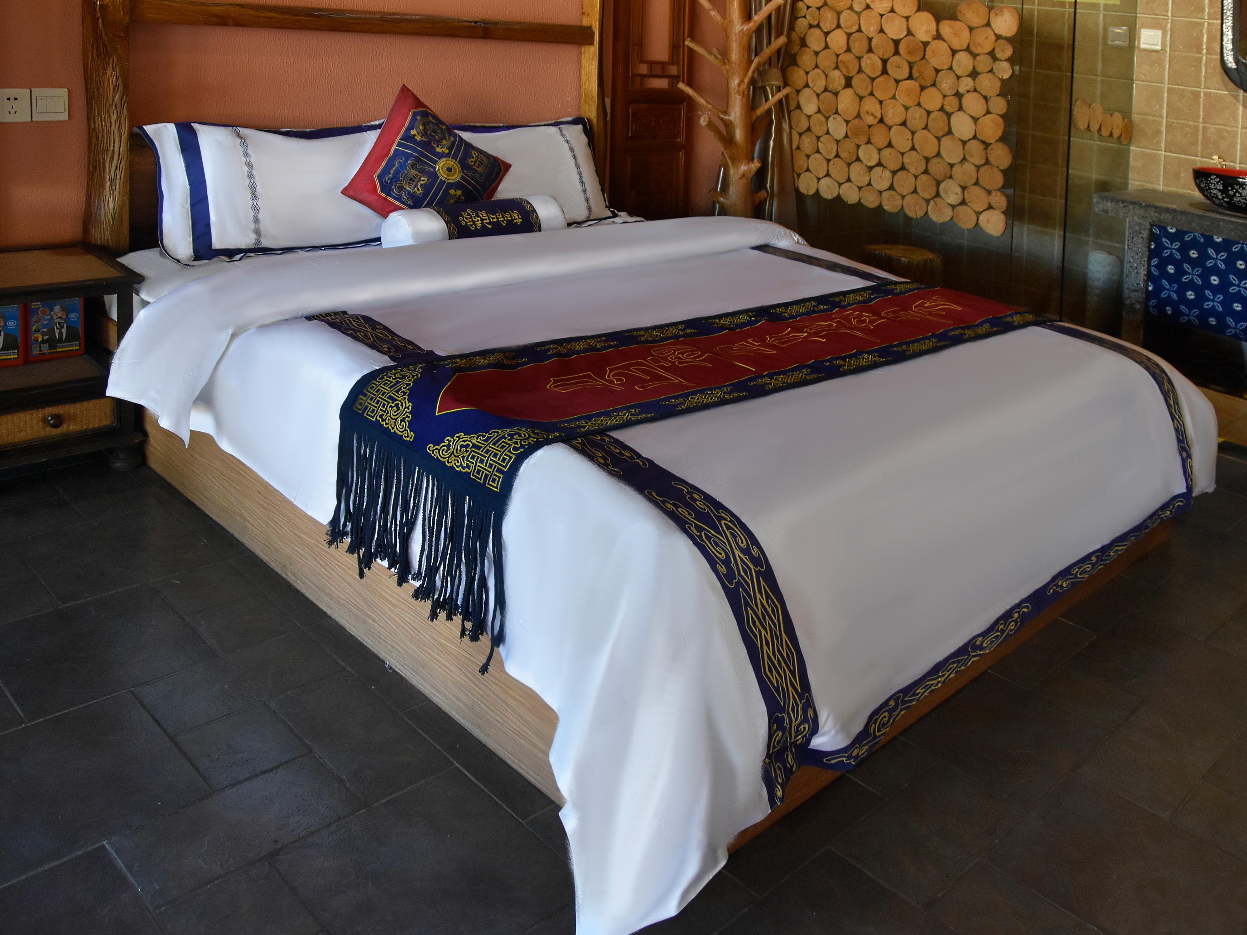 民宿酒店藏族风格床上用品