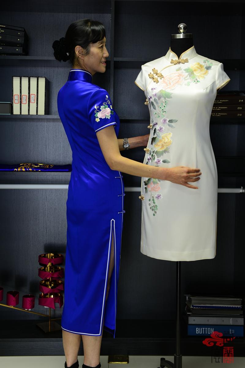 高端定制旗袍01