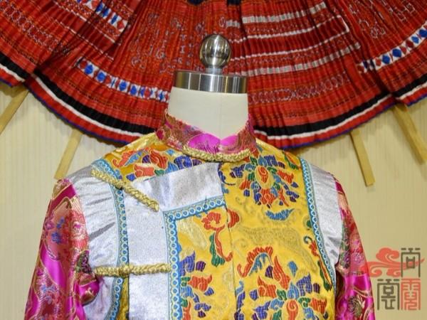 少数民族服饰传统藏族节庆女装