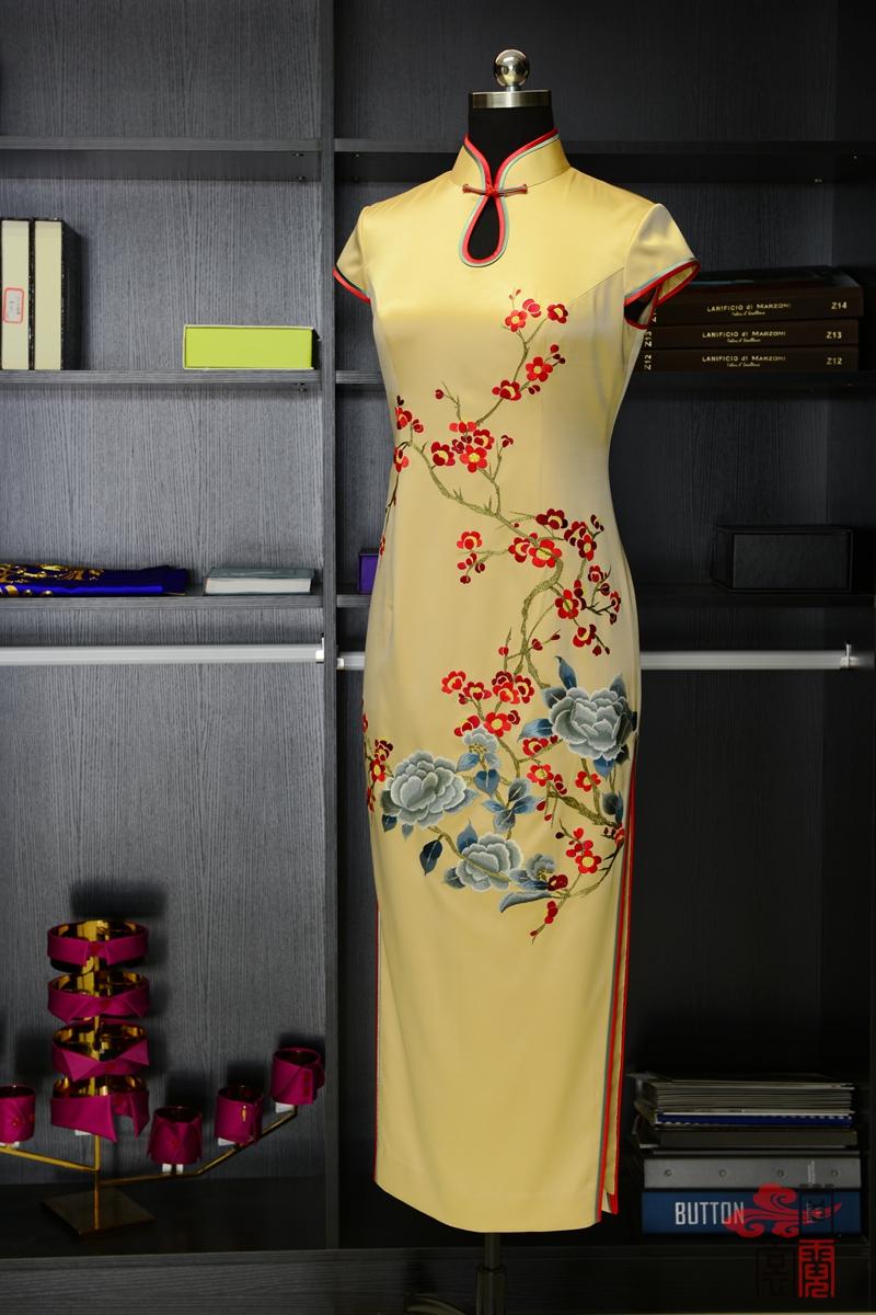 高端定制旗袍06