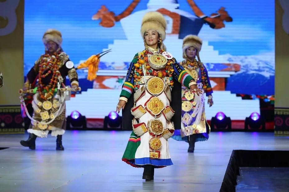 藏族节庆服装