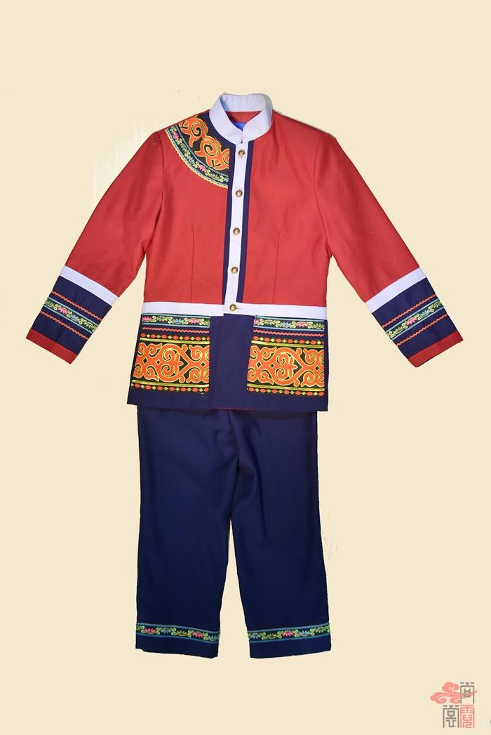 彝族民族校服0 (2)