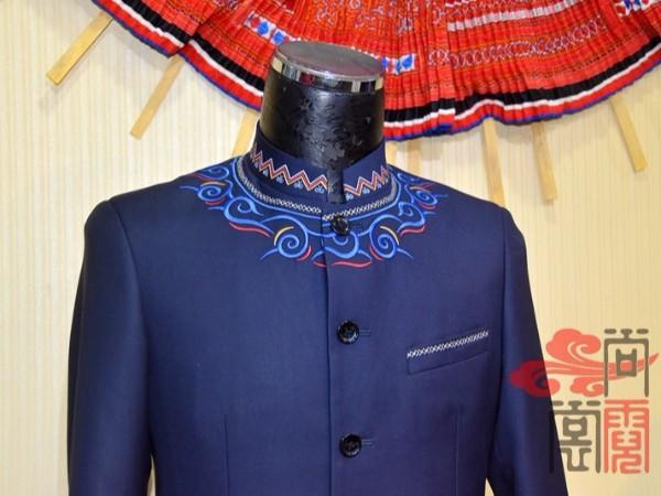 少数民族服饰彝族教师工作服装
