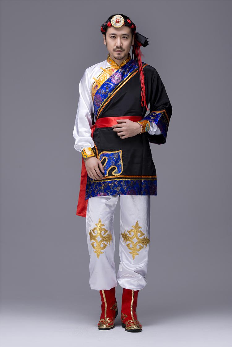 蒙古族男服装图片3