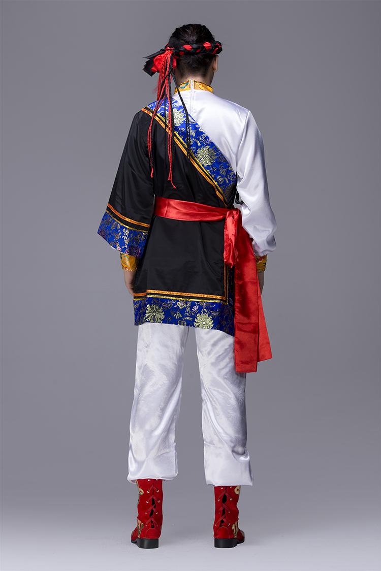 蒙古族男服装图片4