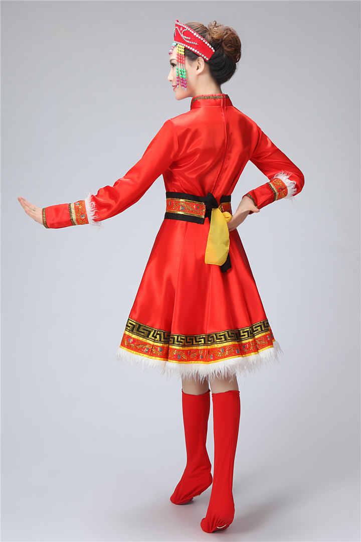 蒙古族女装图片5
