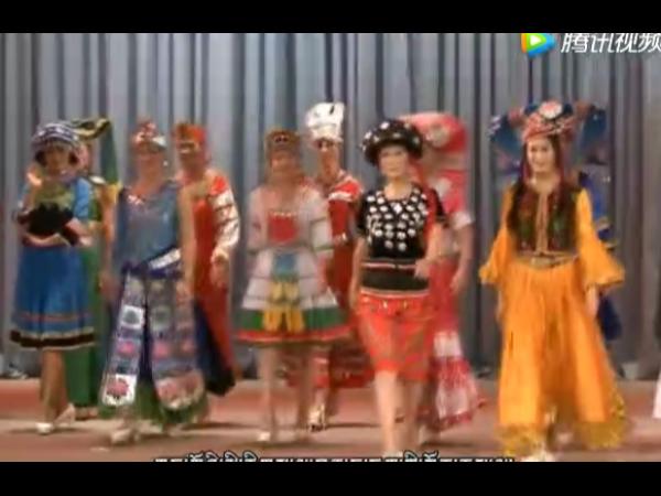 中国56个民族的服饰