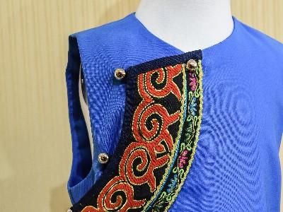 彝族民族校服女夏装