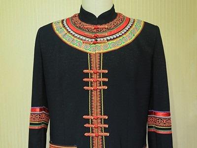 彝族特色节庆服装