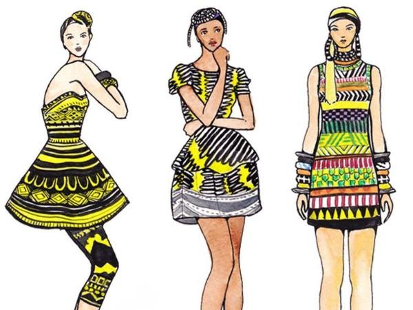 云尚霓裳民族风格的服装设计