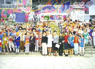 中国首届民族服装服饰博览会少儿组服装