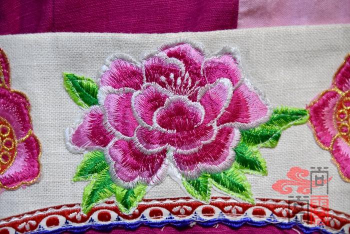 白族服装花纹11