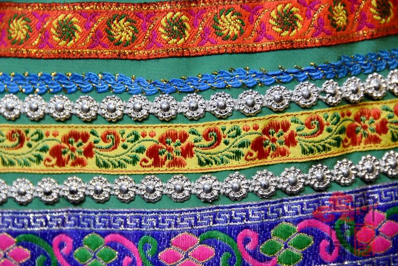 傈僳族服装纹饰 (2)