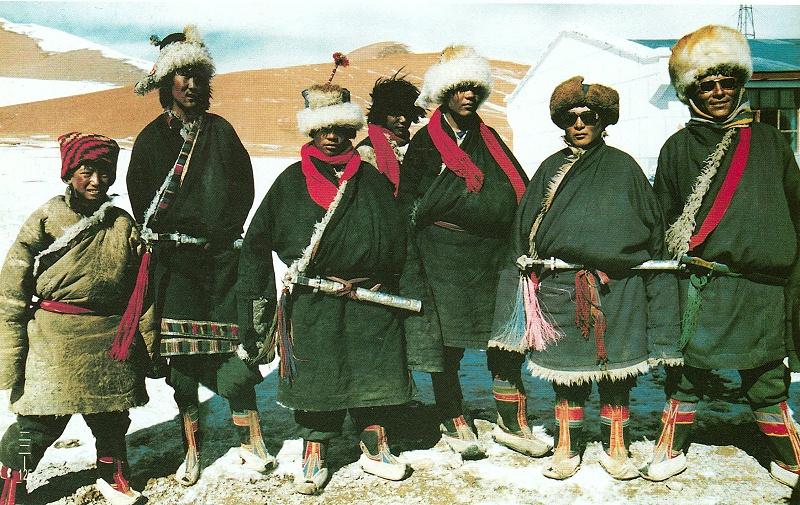 藏北安多地区藏族服饰