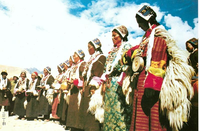 西藏阿里地区普兰县藏族服饰