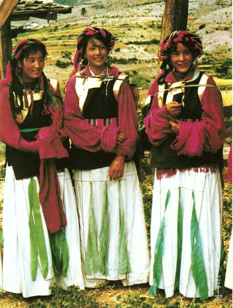 云南迪庆州藏族服饰
