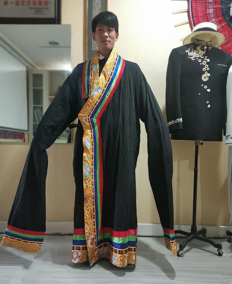 舞台表演藏袍
