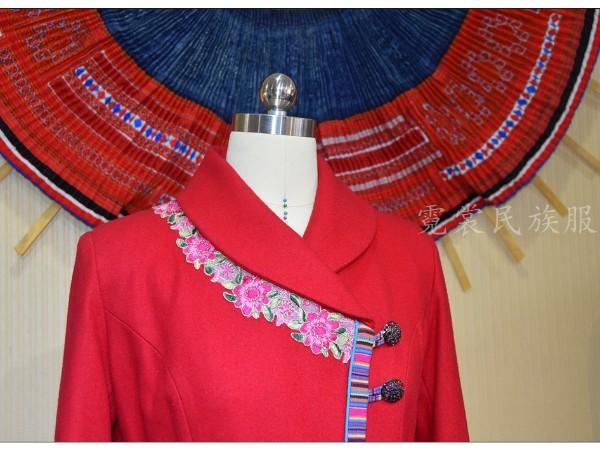 少数民族服饰的职业化设计运用,具体表现在以下几方面