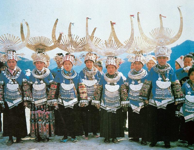 贵州雷山西江式苗族服饰