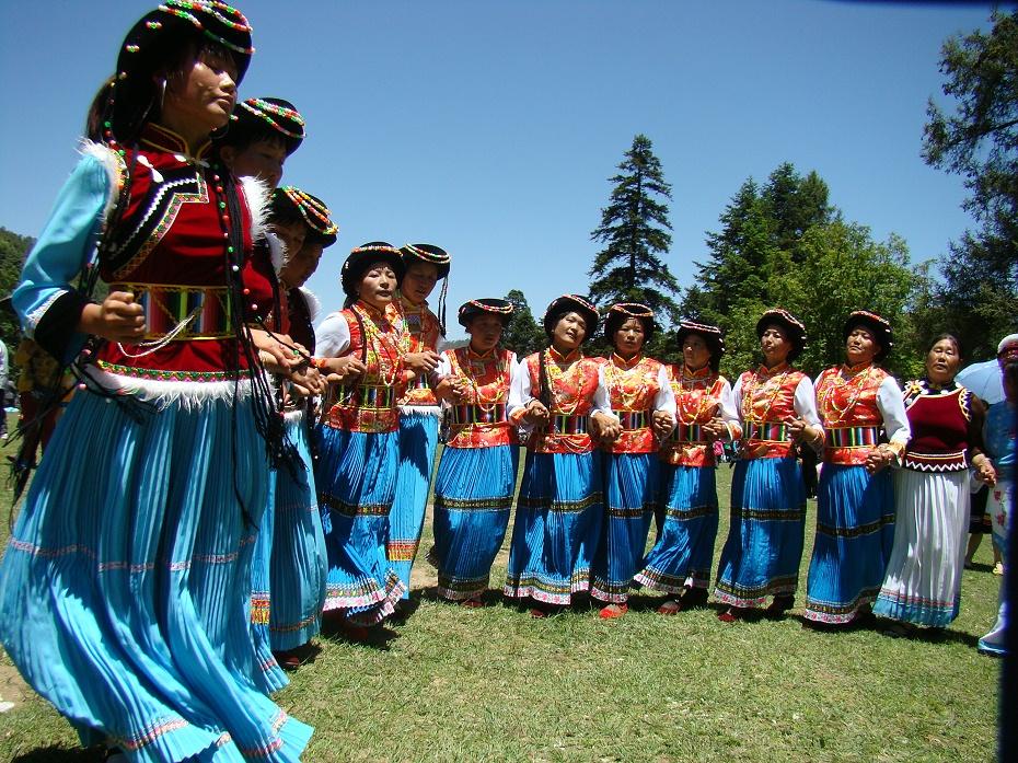 普米族节庆服饰