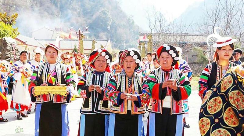 九寨勿角白马藏族风情园