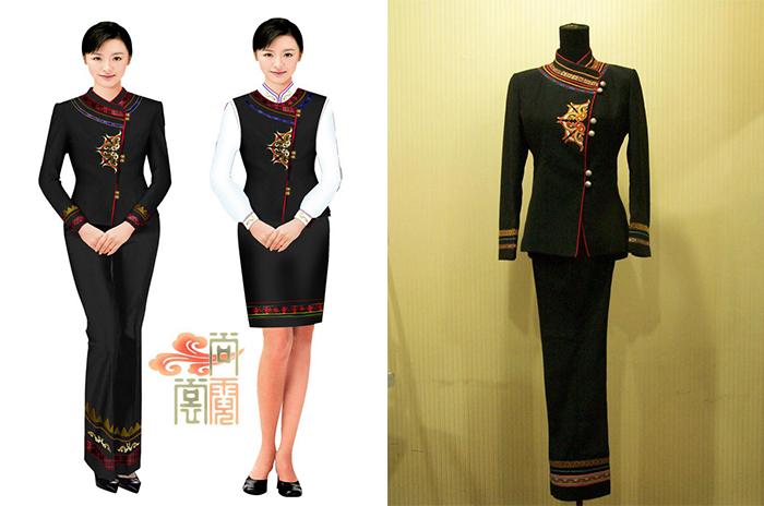 云南人家高级职业化民族服装创意设计定制