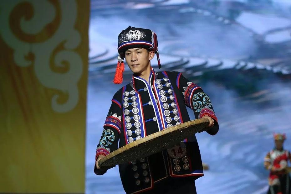红河哈尼族男装