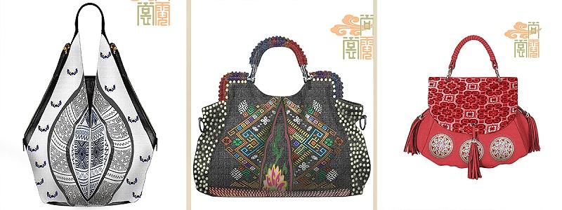 时尚民族风手提包