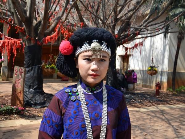 云南民族村各少数民族民族服饰