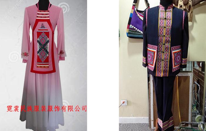 4江华瑶族自治县60周年庆公务员民族服装定制