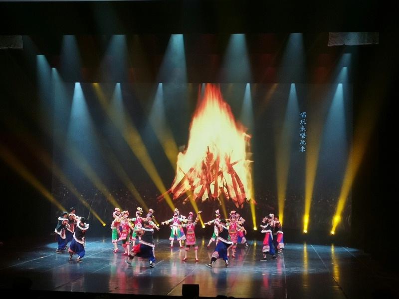 古滇名城民族舞台表演