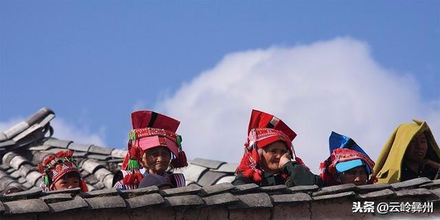 彝族花腰族姑娘5
