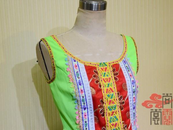 少数民族服饰傣族舞蹈女装